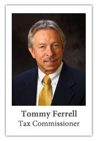 Tommy Ferrell, Tax Commissioner